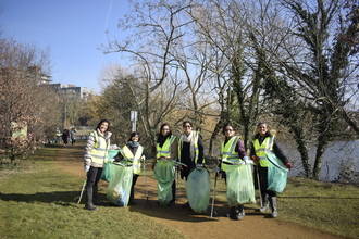Volunteers at Welsh Harp