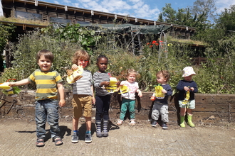 Nature Tots at Centre for Wildlife Gardening