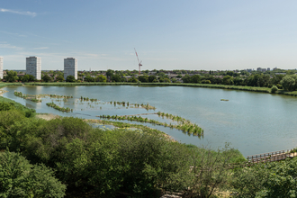 View of Woodberry Wetlands