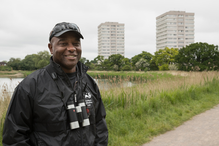 London Wildlife Trust ambassador David Lindo