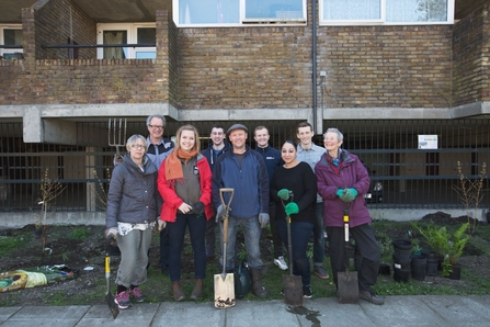 Cressingham rain gardens on the Lost Effra project