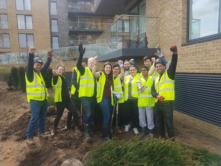 Volunteer workday at Kidbrooke