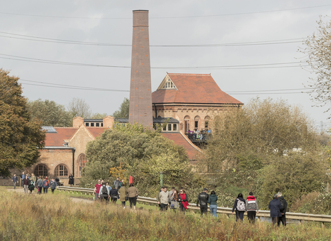 Walthamstow Wetlands engine house