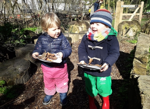 Nature Tots Forest School Woodberry Wetlands